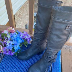Rialto Gray color heeled Boots